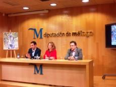 Presentación del XXX Día del Níspero de Sayalonga en la Diputación Provincial de Málaga