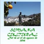 Cartel Semana Cultural 2016